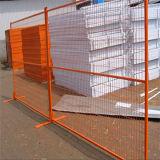O PVC revestiu o cerco provisório galvanizado mergulhado quente