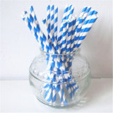 Striped сторновка сини 100% Chevron Eco-Friendly бумажная