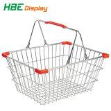 Kosmetischer runde Form-Draht-Korb für das Einkaufen