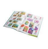 Service d'impression polychrome de brochure d'obligatoire parfait (jhy-571)