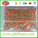 IQF Seleta de Legumes congelados com Ervilha, Cenoura Milho, Grãos de Corte