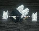 Amplificador de Color Negro Jack modular Cat5e