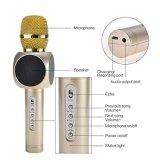 Microfono senza fili tenuto in mano di karaoke di Bluetooth per intrattenimento