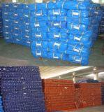 PEの防水頑丈な製材105GSM白Tarps