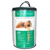 Cylindre transparentes/claires ronde PVC/PE/sac en vinyle avec des poignées de fermeture à glissière pour une couverture de la Courtepointe Bedsheet oreiller literie à l'emballage