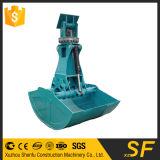 Escavadora rotatória OEM Clamshell Bucket