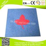 Patio exterior de alta calidad de baldosas de goma de protección de la tierra mat
