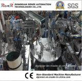 Les constructeurs ont personnalisé la machine automatique pour la ligne de production de mousse de douche