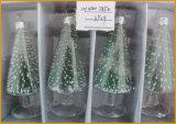 Ornamento Multicolor De Árvore De Vidro De Natal