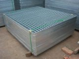 Pallet Racking (SL-0019)のためのInverted Channelの電流を通されたSteel Wire Mesh Decking