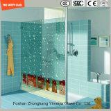 シャワーのための3-19mmの漫画の画像のデジタルペンキのシルクスクリーンプリントまたは酸の腐食の安全パターン和らげられたか、または強くされたガラスか浴室かSGCC/Ce&CCC&ISOの区分