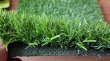 Moquette artificiale verde della decorazione, moquette della stuoia dell'erba da vendere