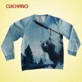 Verschiedene gute Qualitätssweatshirts, Sublimation-Drucken-Sweatshirts, kundenspezifisches Crewneck Hoodies