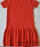 Дети замыкают накоротко платье свитера Knit втулки цельное