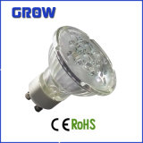 3With5With7W GU10 Glass LED Spotlight (GR650)