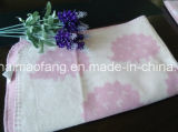 Couverture pure tissée de bébé de coton
