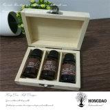 Hongdao modificó el rectángulo para requisitos particulares de empaquetado de madera, petróleo esencial Box_D de madera