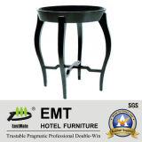 Table à café ronde en laine de piano en caoutchouc 2016 (# EMT-CT09)