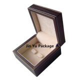 Hecho de lujo de manejar imitación de joyería Regalo de cuero caja de la caja de embalaje