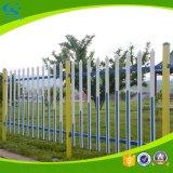 Загородка гальванизированная PVC для лужайки или сада