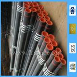 Alta qualidade ASTM A53 GR. Tubulação de aço sem emenda do carbono preto de B