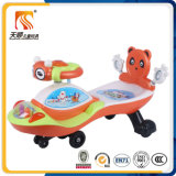 Lovely Baby Swing Ride on Car Toy avec dossier en gros