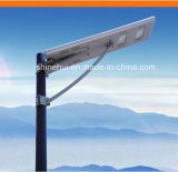 중국 공급자 중국 Manufacter 40W 27amh 작동 온도 -30º C~+60º C 태양 에너지 가로등