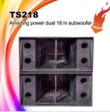 Ts218 Dual 18inch PRO Audio Spaker Subwoofer Basket Box