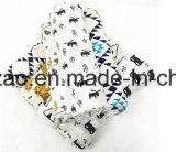 Baumwolle 2017 gedruckte Baby-Gaze-waschbare Musselin-Zudecke