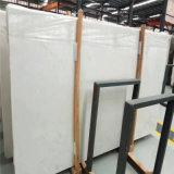 Losa de mármol blanca del mármol de la losa de la edad de hielo (azulejo, losa y encimera)