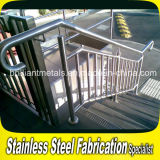 Outdoor personalizzato Stainless Steel Handrail/Railing/Guard Rail/Balustrade per Stair Baluster