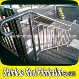 Настраиваемые Поручень из нержавеющей стали для установки вне помещений/поручня/ограждающий поручень/Baluster Balustrade для лестницы