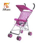 Oberste populäre Portable 8 EVA-Rad-purpurroter Baby-Buggy Fabrik von der Hebei-Tianshun