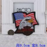 Baumwolle Fabric Embroidery Iron auf Patch (EMP001)
