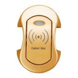 Gold RFID Electronic Card Cabinet / Card Lock para sauna Bathroom Lounge Room
