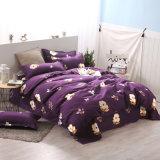 100%年のポリエステルディスパースは膚触りがよく柔らかく贅沢な寝具の慰める人カバーセットを印刷した