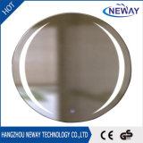 Nouveau design LED Clear Aluminium Light Bathroom Mirror