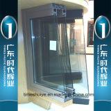 Aluminiumglastür für Dusche-Raum mit doppelten Gläsern