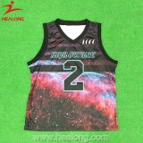 Custom Sport износа Сублимация мужчин в баскетбол футболках NIKEID