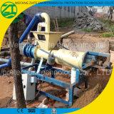 Máquina de desidratação, separador de líquido sólido para estrume de gado