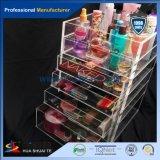 De in het groot Doos van de Schoonheid van de Make-up van de Fabriek Naar maat gemaakte Transparante Acryl