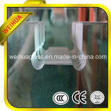 6mm / 8mm / 10mm / 12mm / 15mm / 19mm Clear Toughen Glass avec CE / ISO9001 / SGS / CCC