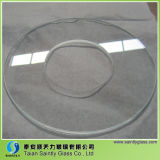 Vidrio decorativo Tempered plano claro de la iluminación de Shandong
