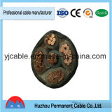 Yjv Yjlv 0.6/1kv XLPE de 3 núcleos aislados de cable de alimentación recubierto de PVC