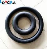 Chambre à air en caoutchouc de moto de qualité de garantie de 100% (100/90-17)
