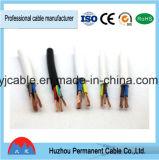 Fait en usine Câble d'alimentation en caoutchouc souple 2,5 mm de la SQ H07RN-F 3x1,5mm2 Câble de commande