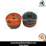 100mm de polimento de concreto Klindex Antique Brushed Brushes