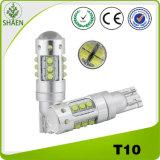 Lámpara auto del poder más elevado T10 80W LED