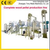 1T/heure de la biomasse Matériel de production de granules de bois