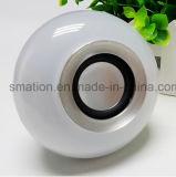 Luz de bulbo elegante de los sonidos LED Bluetooth de los altavoces de la música de WiFi RGB